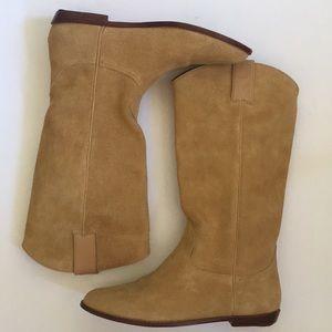 Vintage Esprit suede boots size 9